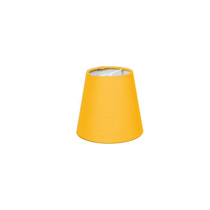 Klemkap-12cm-rond-SC-fel-geel