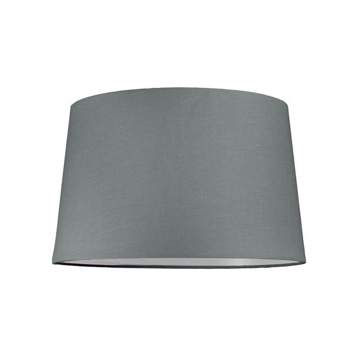 Kap-40cm-rond-SU-E27-grijs