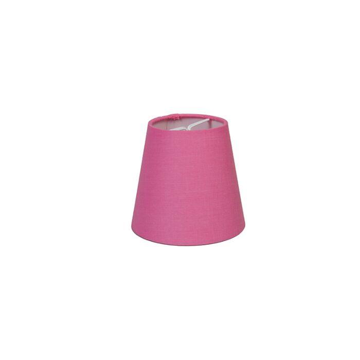 Klemkap-12cm-rond-SC-roze