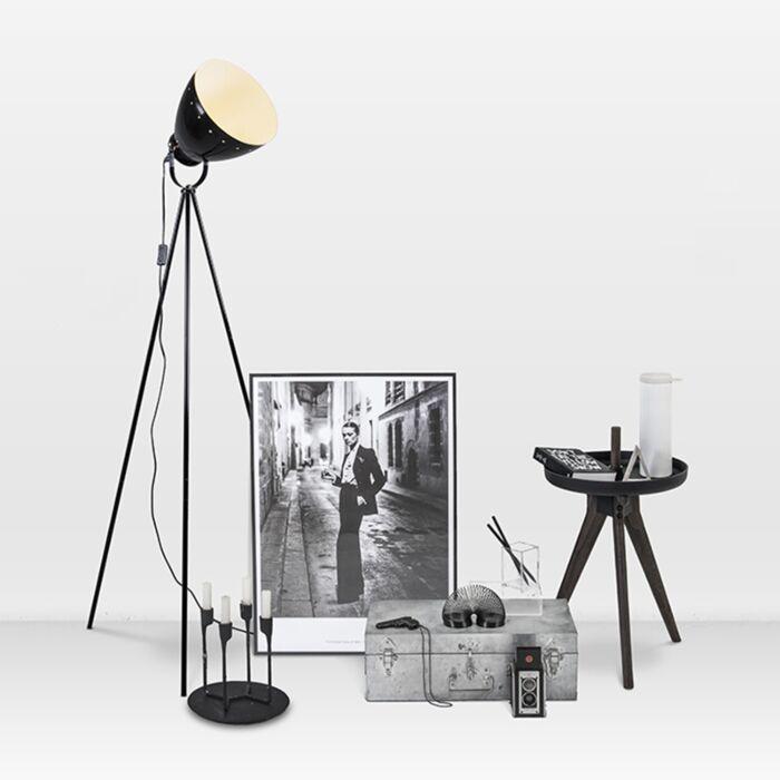 Vloerlamp-Rytel-zwart