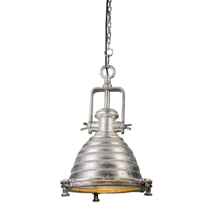 Hanglamp-Fort-Raw-M-nikkel