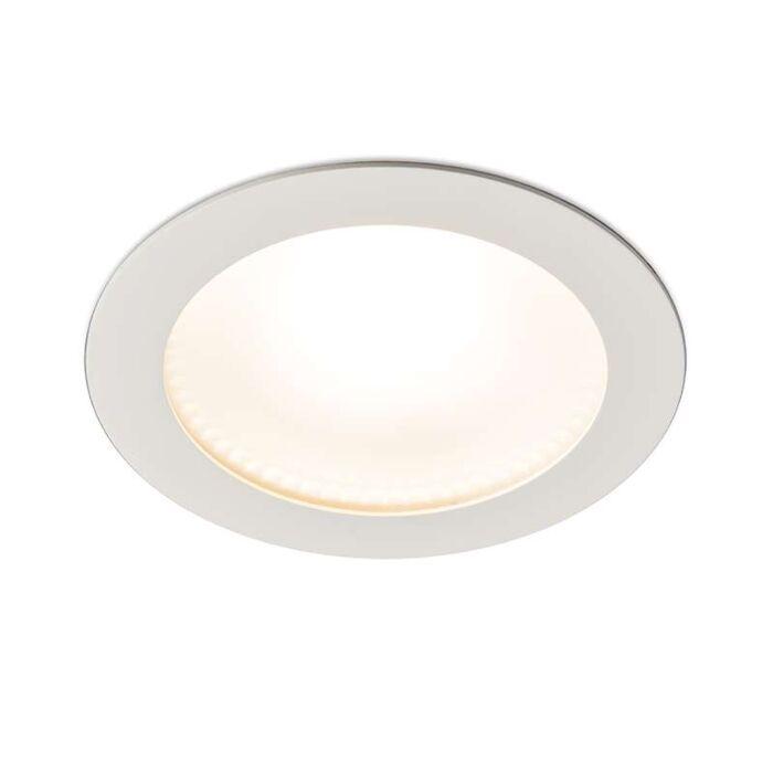 Moderne-inbouwspot-wit-incl.-LED-15W---Invaser