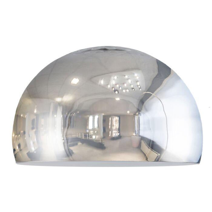 Kap-Globe-33cm-chroom