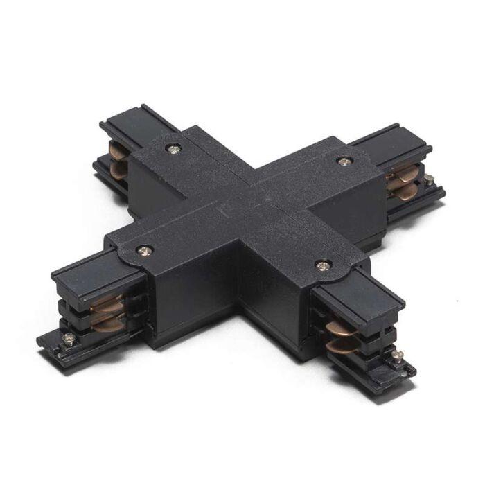 X-Koppelstuk-voor-3-fase-rail-zwart