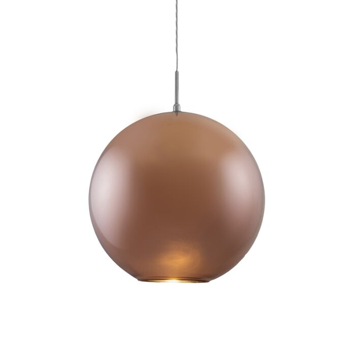 Hanglamp-Ball-40-koper