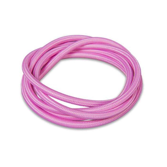 Stoffen-kabel-1-meter-roze