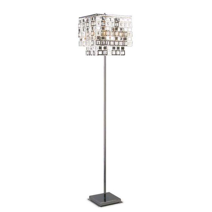 Vloerlamp-Quadrato-chroom