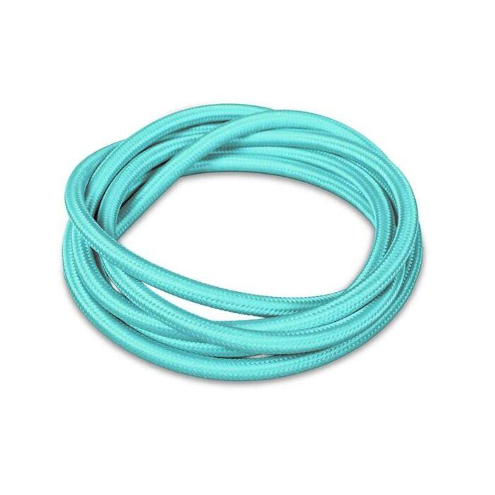 Stoffen-kabel-1-meter-turquoise