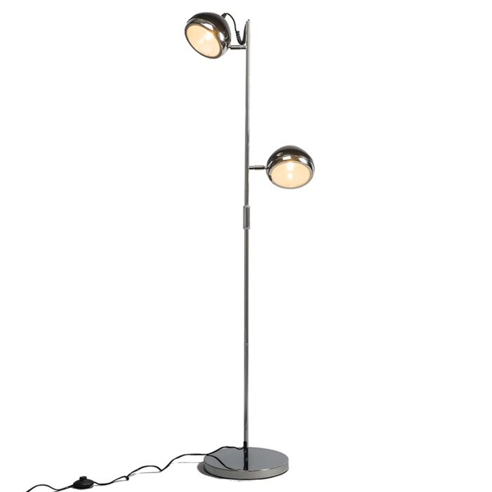 Vloerlamp-Biker-2-zwart