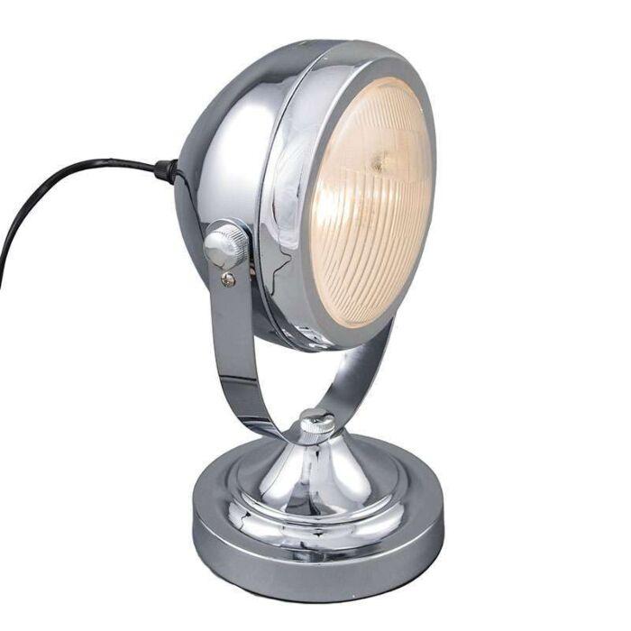 Tafellamp-Biker-chroom