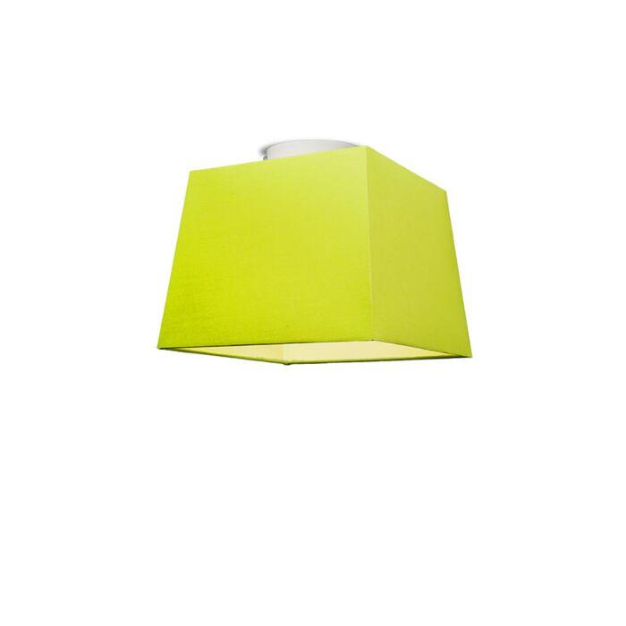 Plafonniere-Ton-vierkant-30-groen