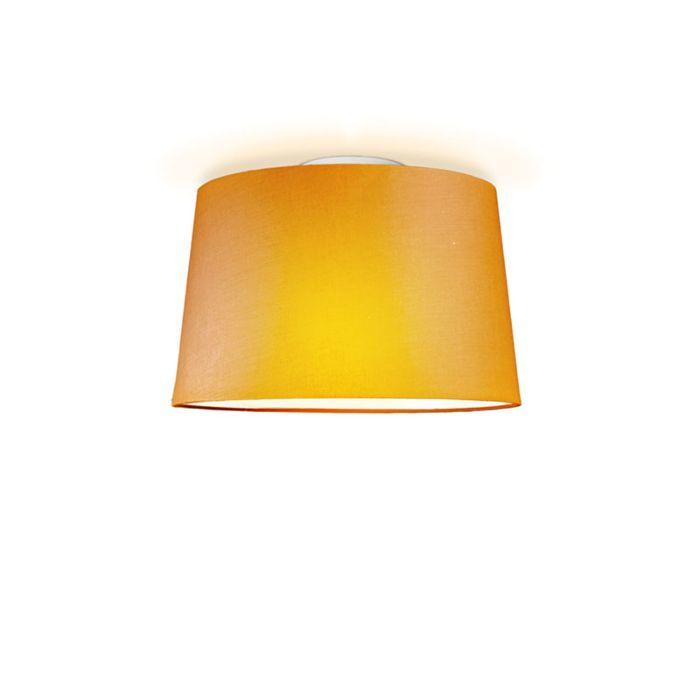 Plafonniere-Ton-rond-40-oranje