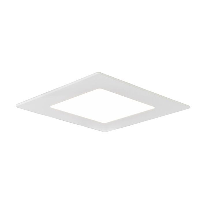 Inbouwspot-Radem-vierkant-6W