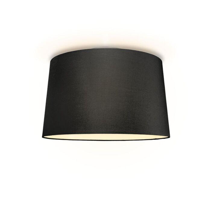Plafonniere-Ton-rond-50-zwart