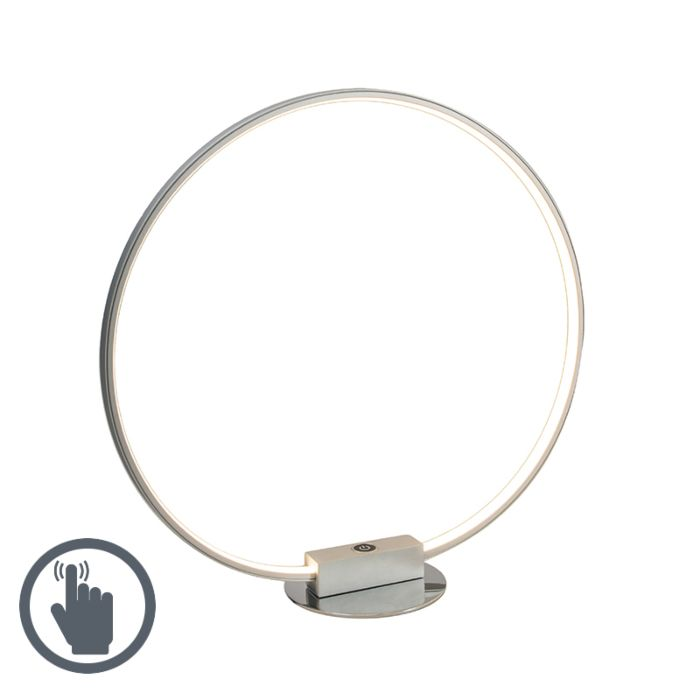 Tafellamp-Circulus-grijs
