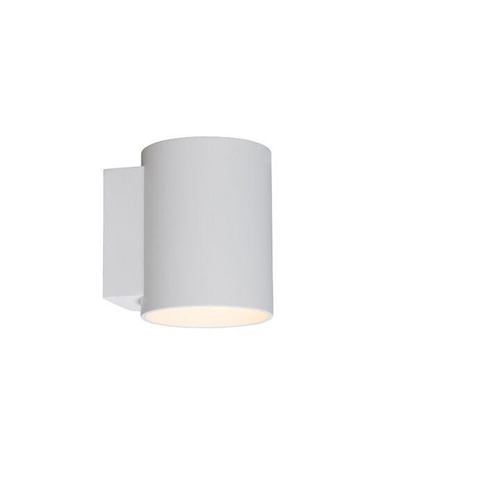 Wandlamp-rond-wit---Sola