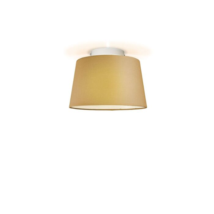 Plafonniere-Ton-rond-30-beige
