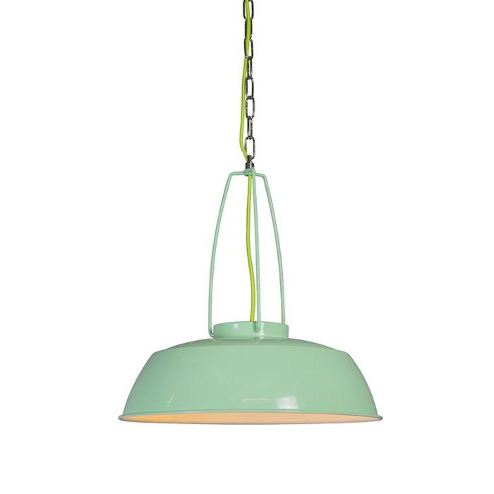Hanglamp-Usine-groen