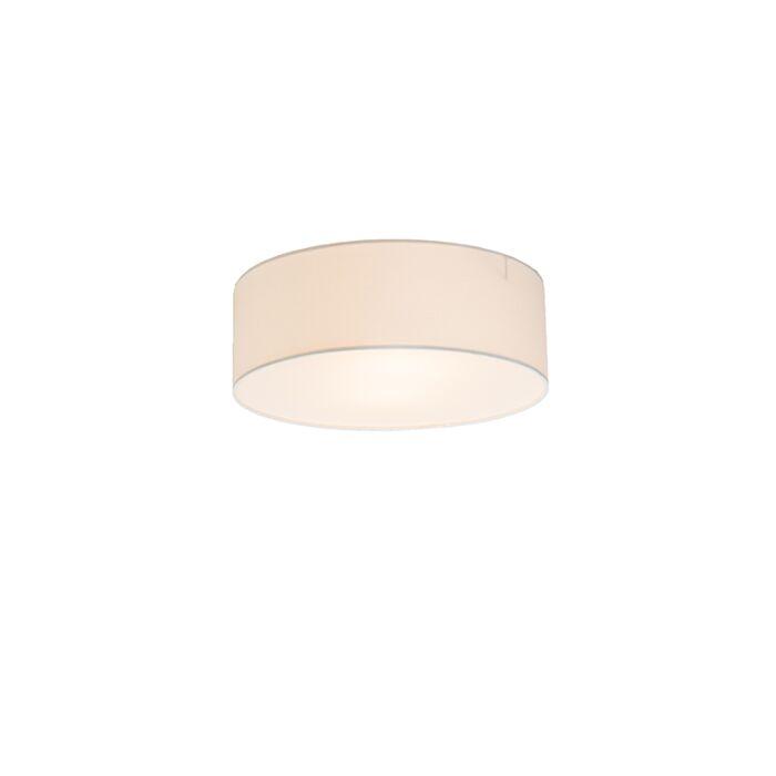 Plafondlamp-Drum-Basic-30-wit
