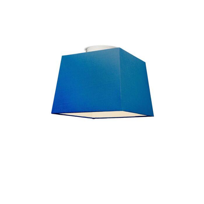 Plafonniere-Ton-vierkant-30-blauw