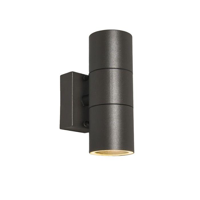 Buitenlamp-Duo-donkergrijs