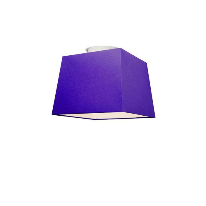 Plafonniere-Ton-vierkant-30-paars