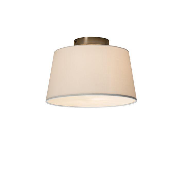 Plafonnière-Combi-30cm-wit-met-blender