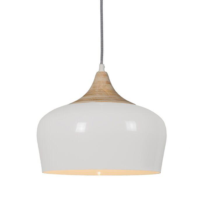Hanglamp-Pine-creme