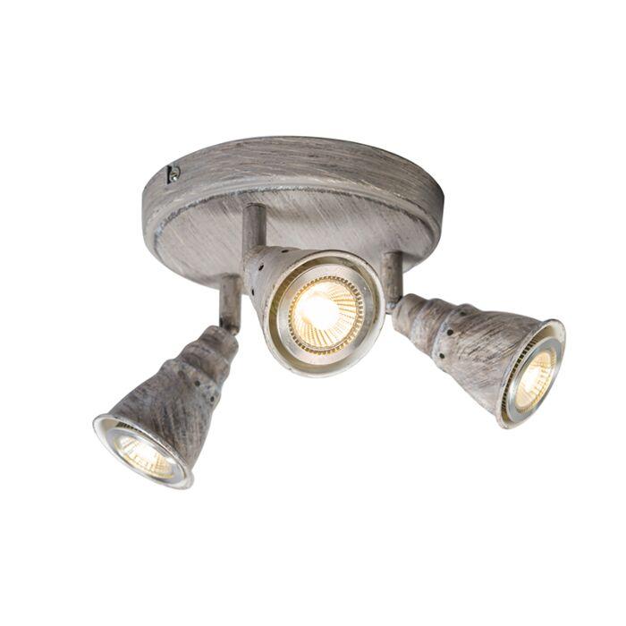 Plafond--en-wandspot-grijs-draai--en-kantelbaar-rond---Coney-3