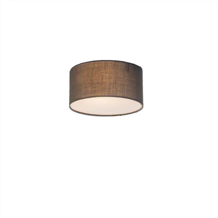 Plafonnière-Drum-Basic-20-grijs