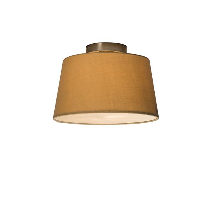 Plafonnière-Combi-30cm-beige-met-blender