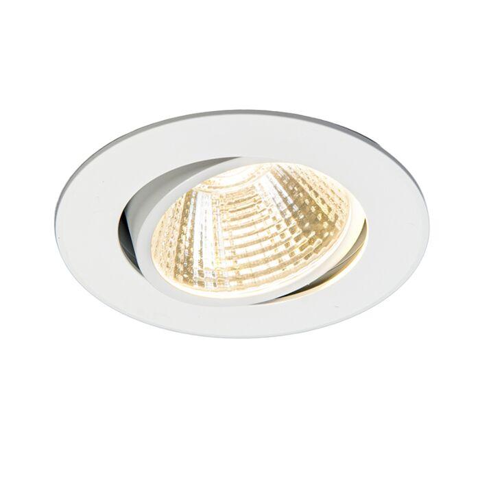 Inbouwspot-Swirl-LED-5W-220V-3000K