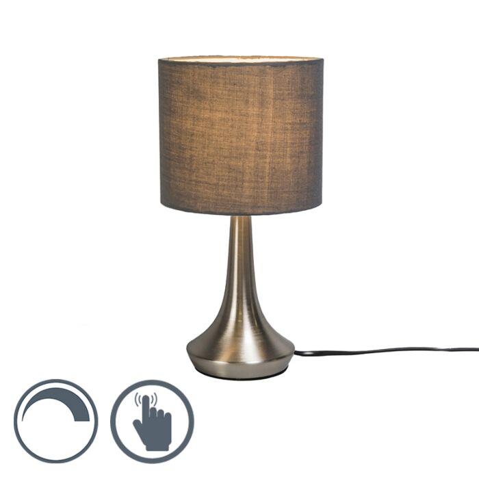 Tafellamp-Milo-1-rond-grijs