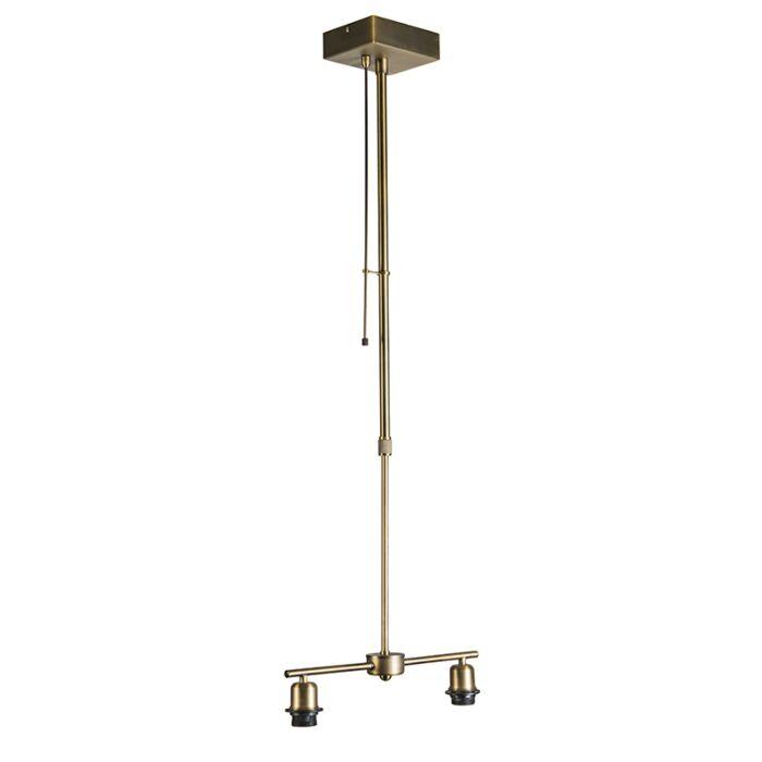 Hanglamp-Mix-2-brons-met-dimmer