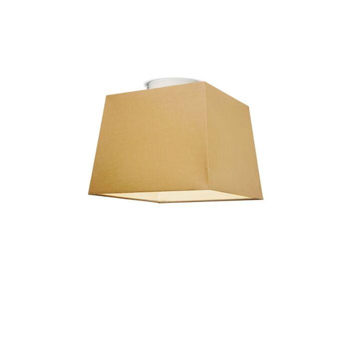 Plafonniere-Ton-vierkant-30-beige