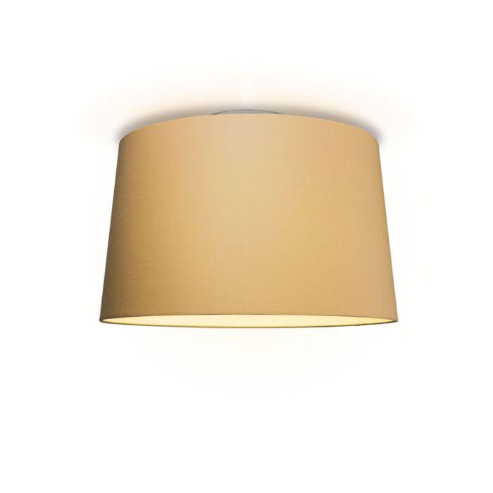 Plafonniere-Ton-rond-50-beige