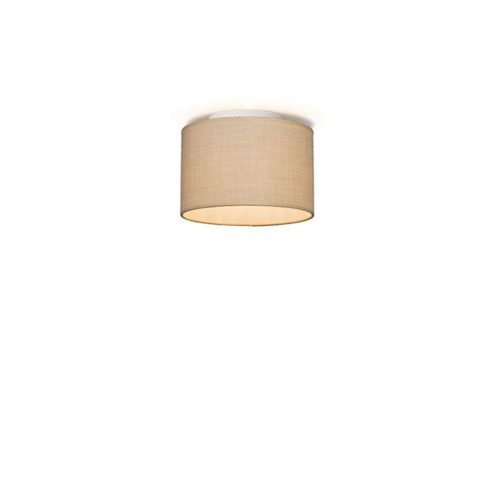 Plafonniere-Drum-20-beige