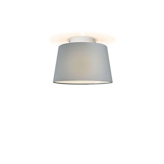 Plafonniere-Ton-rond-30-grijs