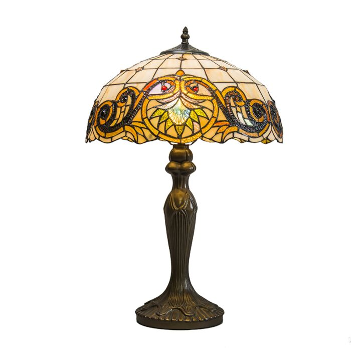 Tafellamp-Tiffany-Sunflower-40