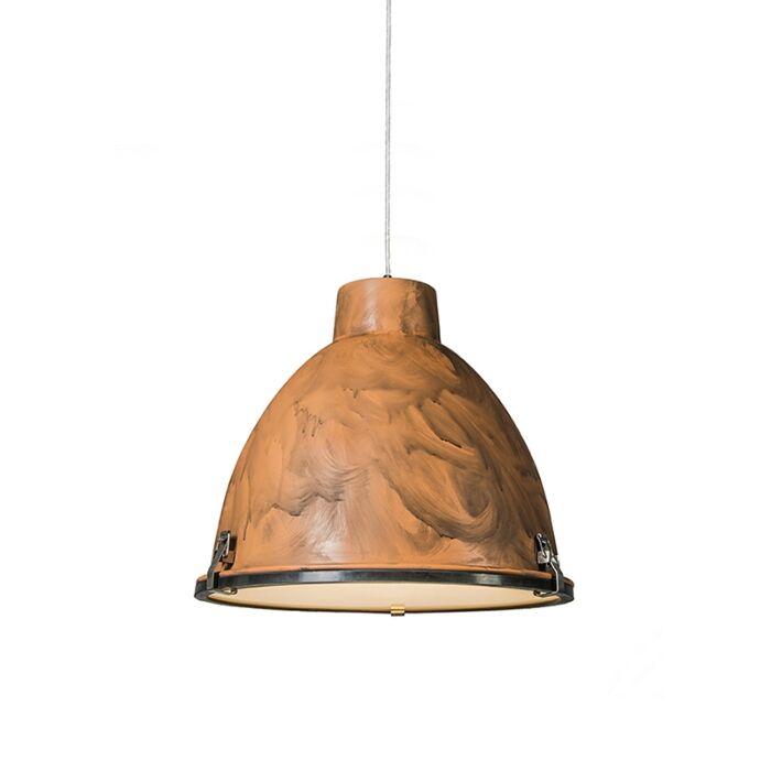 Hanglamp-Anteros-38-roestkleur