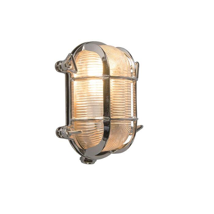 Retro-wandlamp-chroom-18-cm-IP44---Nautica-2-ovaal