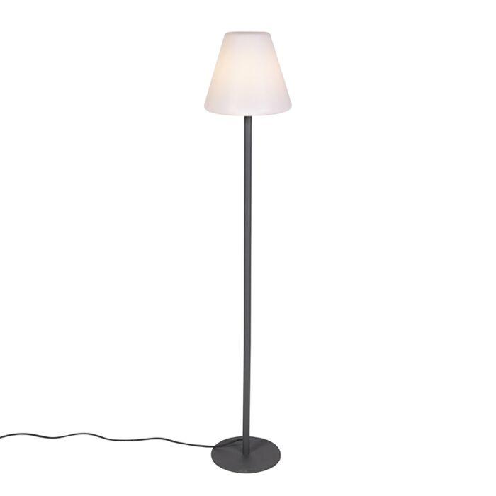 Moderne-buiten-vloerlamp-donkergrijs---Virginia