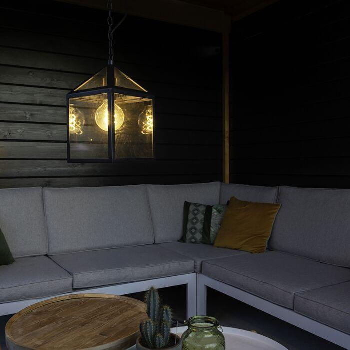 Industriële-buiten-hanglamp-zwart-IP23---Amsterdam