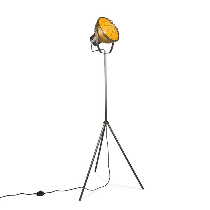 Vloerlamp-Orbita-goud