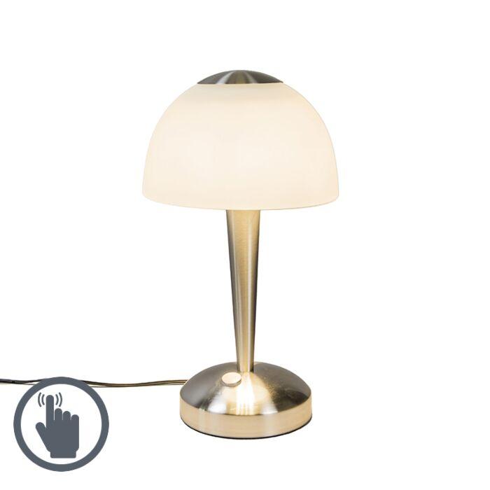 Tafellamp-Bauhaus-LED-staal