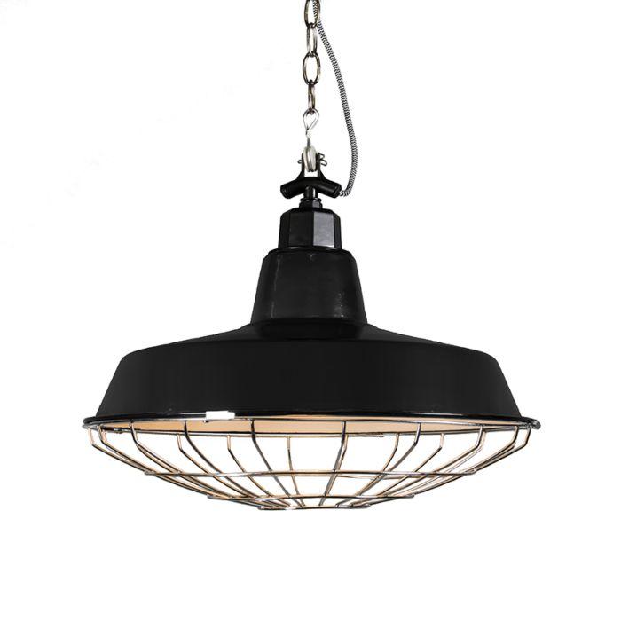 Hanglamp-Strijp-L-zwart