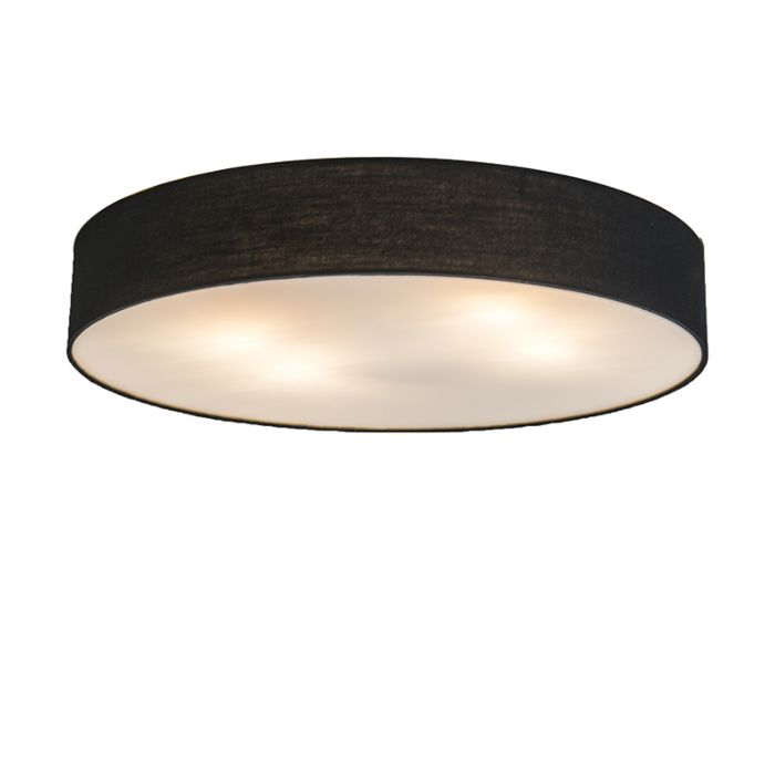 Plafonnière-Drum-Basic-60-zwart