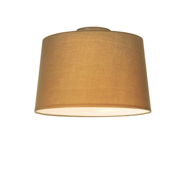 Plafonnière-Combi-40cm-beige-met-blender