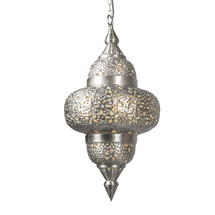 Hanglamp-Marrakesh-zilver