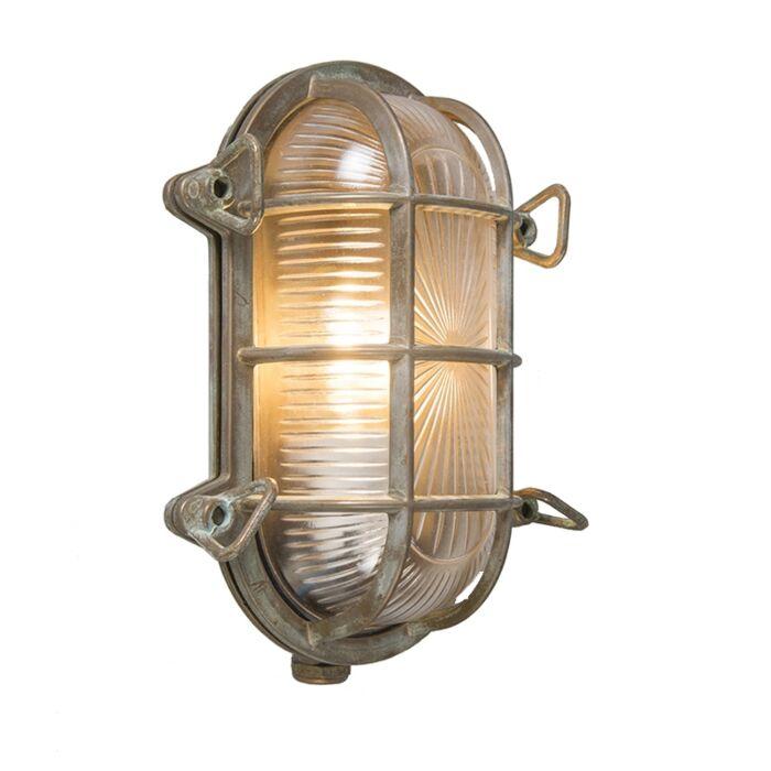 Retro-wandlamp-bruin-23-cm-IP44---Nautica-1-ovaal